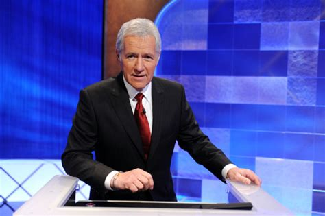 Alex Trebek Admits He Wears a Hair Piece Due to Chemotheraphy