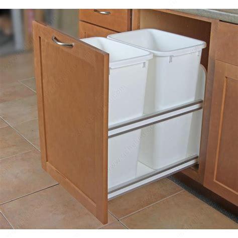 kitchen cabinet recycling center undermount recycling center richelieu hardware