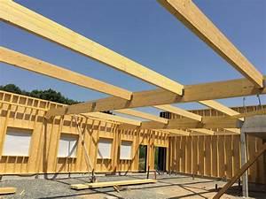 Epaisseur Mur Ossature Bois : mur ossature bois mur maison ossature bois boismaison ~ Melissatoandfro.com Idées de Décoration