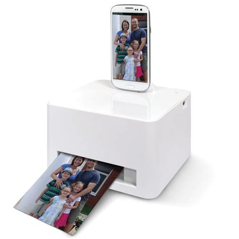 android printer android smartphone photo printer hammacher schlemmer