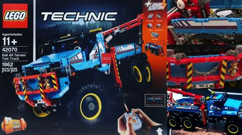 2017 lego technic 6x6 all terrain tow truck pre review