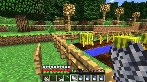 Tutorial Minecraft - Como plantar calabazas y sandias