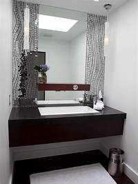 contemporary bathroom mirrors Photos | HGTV