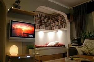 Kleine Wohnung Einrichten Ideen : ideen 1 zimmer wohnung einrichten ~ Sanjose-hotels-ca.com Haus und Dekorationen