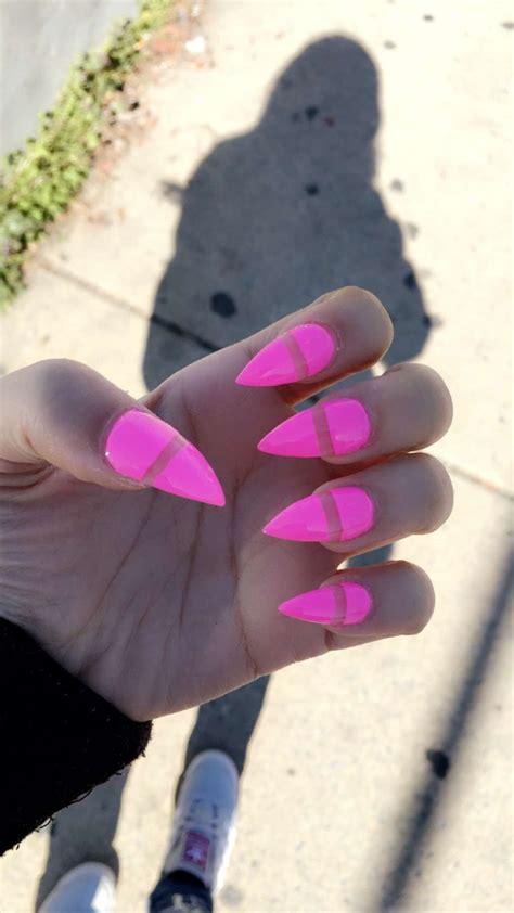 ideas  bright acrylic nails  pinterest