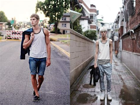 cowok korea  cowok amerika melihat  fashionnya