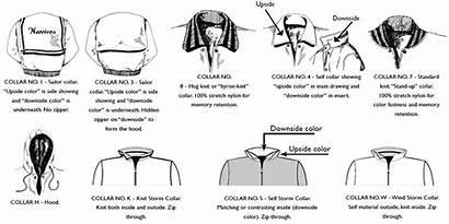 Collar Jacket Collars Jackets Styles Types Sailor
