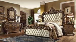 5 Piece Vienna European King Bedroom Set Homey Design HD
