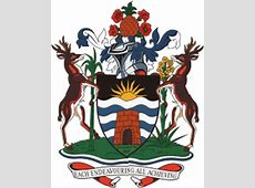 Antigua and Barbuda National Flag and coat of arms