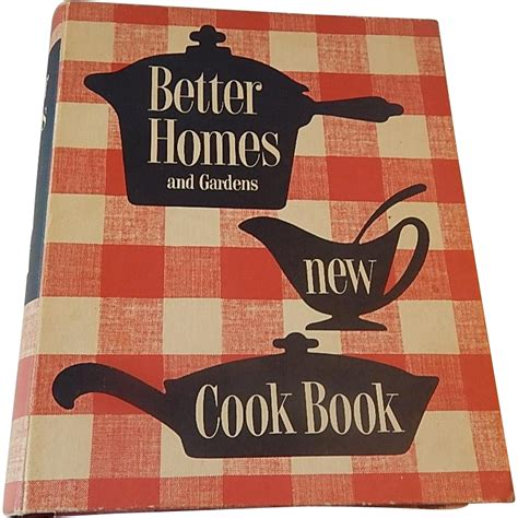 better homes and garden new cookbook 1953 1st edition