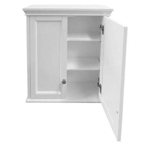 foremost haven 24 in w wall cabinet in white