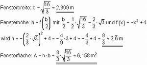 Fläche Unter Parabel Berechnen : l sungen zu vermischte aufgaben zur differential und integralrechnung iii ~ Themetempest.com Abrechnung