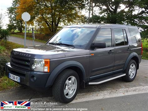 discovery  occasion land rover discovery  occasion tdv