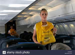 Airline Safety Demonstration Stock Photos & Airline Safety ...