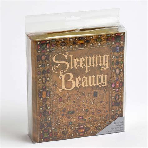 wdw store disney notecard set sleeping beauty