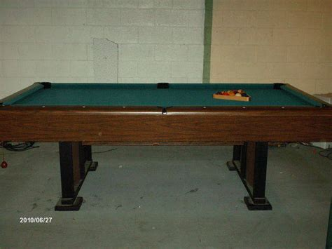small slate pool table 8ft slate pool table for sale from eaton rapids michigan