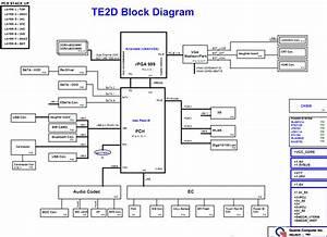 Toshiba Satellite L600  Discrete  Schematic  Quanta Te2d