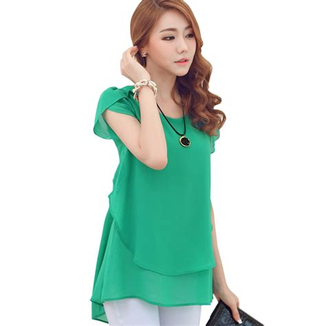 womens green blouse green chiffon blouse plus size 5xl 4xl 3xl butterfly