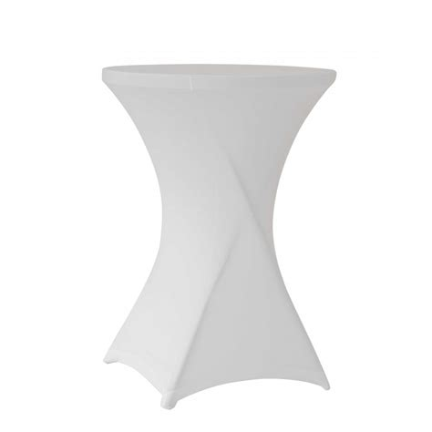 nappe stretch tables mange debout rondes diam 232 tre 80cm hauteur 110cm barri 232 re vauban barri 232 re