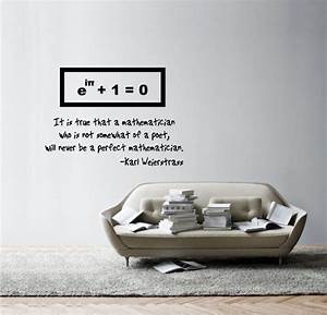 Science Art - 5 simple equations - Weierstrass quote on ...