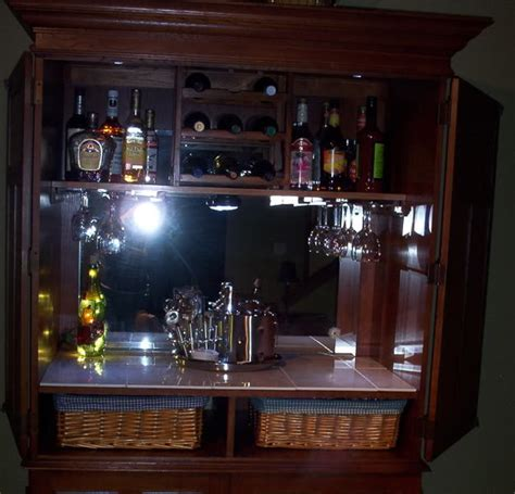 armoire cabinet into a bar project codename bar moire anexperimentinwhiskey