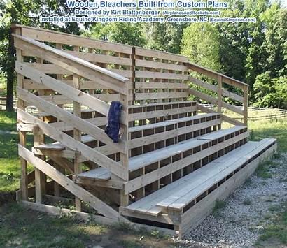 Wooden Bleachers Plans Woodworking Riding Bleacher Seating