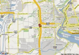 Map of Comfort Inn Lundy's Lane, Niagara Falls