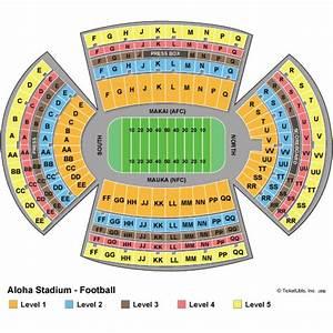 Aloha Stadium Seating Chart Hawaii Bowl Tickets Fresno State Vs Houston
