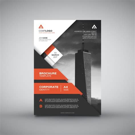 Flyer Vectors Photos And Psd Files Free How To Design A Company Brochure Business Flyer Vectors