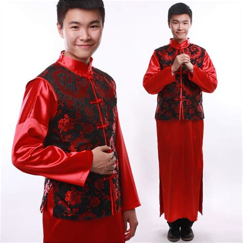 Show menu0026#39;s clothing pratensis chinese style wedding loading the male the groom wedding dress ...