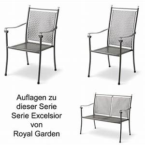 royal garden auflage serie excelsior des 2038 100 With katzennetz balkon mit royal garden excelsior niederlehner
