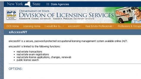 All other professional licenses are renewed and updated by mail. Do you have a NY RE License?   BerkshireRealtors