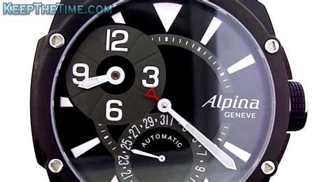 Alpina Geneve Manufacture Regulator Watch