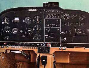 1969 Cessna 172k Instrument Panel