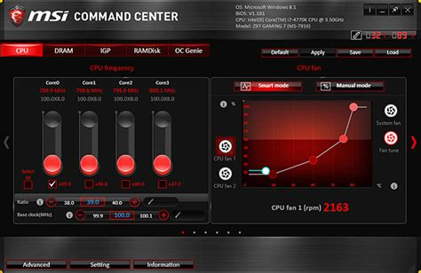 fan speed control software msi 39 s z97 gaming 7 motherboard reviewed the tech report