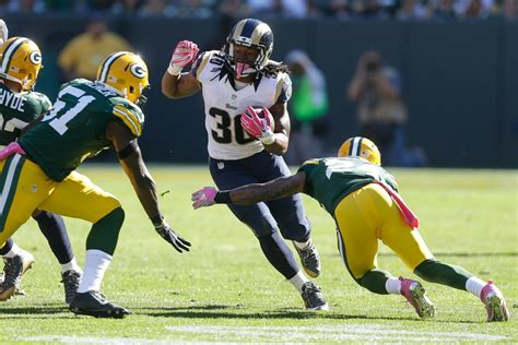 los angeles rams  green bay packers win loss