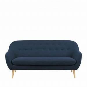 Canapé 3 Places Scandinave : canap design et moderne pour un salon plein de style drawer ~ Teatrodelosmanantiales.com Idées de Décoration