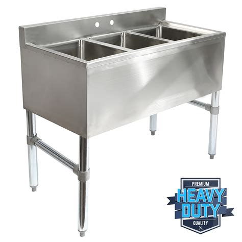 three compartment kitchen sink three 3 compartment stainless steel kitchen bar 6107