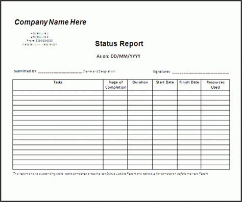 editable weekly marketing report template