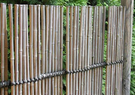bambus sichtschutz garten japanischer garten sichtschutz aus bambus trennwand