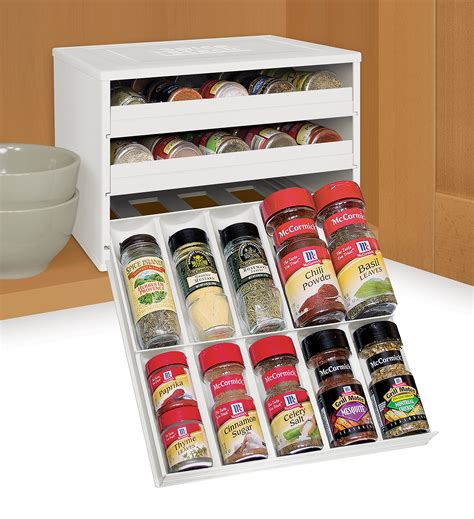 Spice Rack And Bottles by Youcopia Chef S Edition Spicestack 30 Bottle