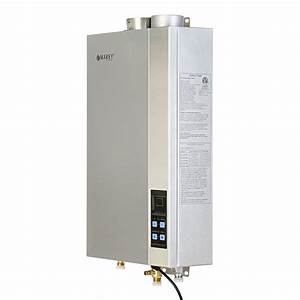 Marey 5 4 Gpm Natural Gas Tankless Hot Water Heater Etl Approved Ga16ngetl