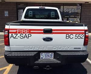 reflective usda truck graphics innovative signs of With vinyl lettering tucson