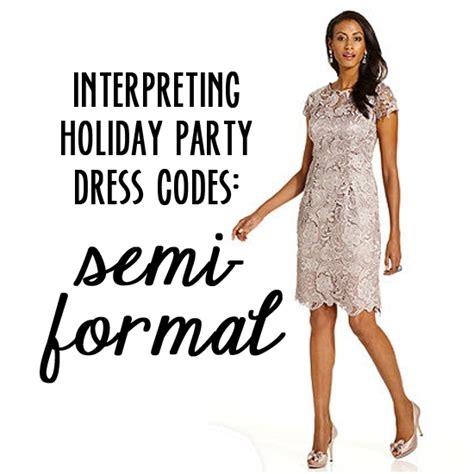 interpreting holiday party dress codes semi formal babble