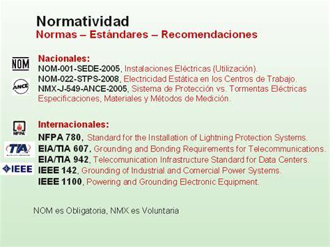 norma de instalaciones elctricas la norma de tierra f 237