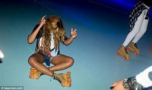 Beyonce Revisits Roller Skating Rink Where She Filmed Music Video And Skated As A Child Daily