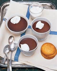 chocolate pots de creme recipe from martha stewart living