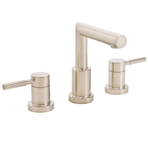 Brushed Nickel And Gold Bathroom Fixtures by Speakman Neo 8 In Widespread 2 Handle Bathroom Faucet In