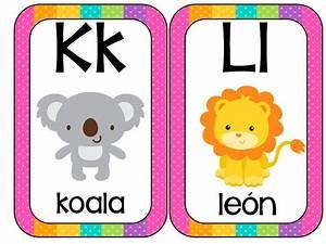 Abecedario Animales formato tarjetas (6) Imagenes Educativas