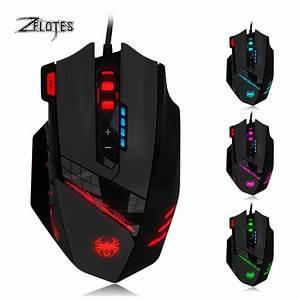 Buy Zelotes C12 Programmable 4000 DPI